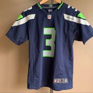 Russell Wilson Seattle Seahawks Nike 10/12 jersey